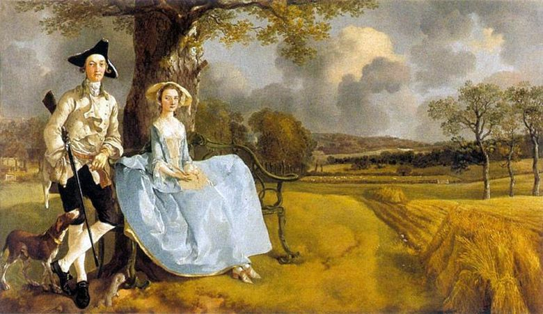 앤드류스 부인   Thomas Gainsborough