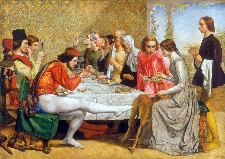 이사벨라   John Everett Millais